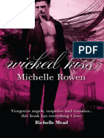 Wicked Kiss by Michelle Rowen - Chapter Sampler