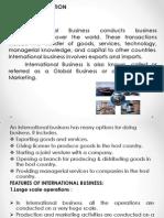 International Business unit 1