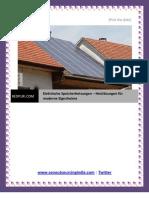 Elektrische Speicherheizungen – Heizlösungen für moderne Eigenheime