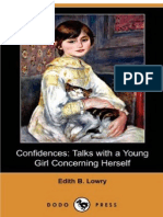 Confidence Talks With a Young Girl