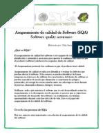 Aseguramiento de Calidad de Software SQA