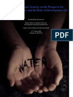 Water Scarcity Poverty and Development Aid (1)