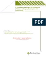 Portland State University's draft executive summary of PERS study