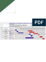 Bar Chart Programme for Condenser Erection, St-IV , Vindhyachal-15.05.11