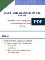 ECE 545—Digital System Design with VHDL