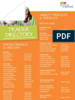 Preston Market Trader Directory