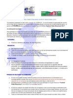 Convocatoria COSPLAY 2013