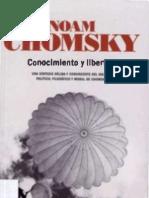 Noam Chomsky. Conocimiento y Libertad.