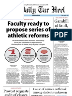 The Daily Tar Heel for March 1, 2013