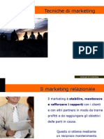 Tecniche e strategie di marketing