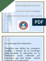 Clase 1 Sociología de la Educación