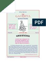 gaudiya math chennai / The Gaudiya January 2013