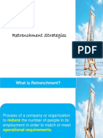 Retrenchment Strategies In HR