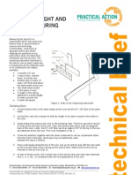 A Simple Height and Depth Measuring Instrument