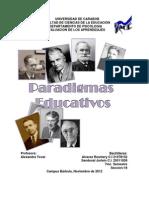 rosmery paradigma educativo