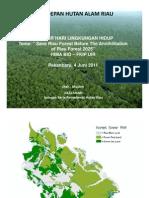 Jikalahari_himap.bio Fkip Uir_seminar Hari Lingkungan Hidup