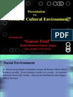 socialculturalenvironmentppt-120718220146-phpapp02