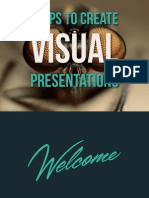7 Tips To Create Visual Presentation
