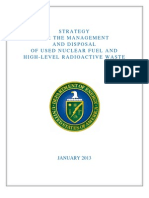 Nuclear Fuel and HLW