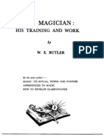 W.E. Butler - The Magician - His Training and Work.pdf