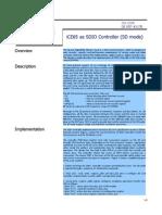 SDIO SDmode Controller