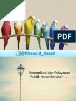 Kement. Perhub - Prof. Rhenald Kasali Ph.D