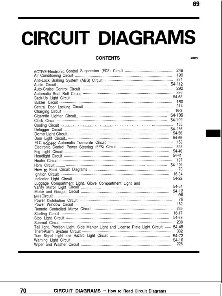 Mitsubishi galant circuit diagrampdf asfbconference2016 Choice Image