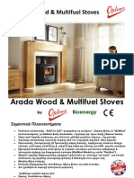 Arada Hellas.Αarrow Ecoburn Μultifuel Stoves