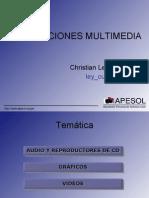 Aplicaciones Multimedia de Software Libre