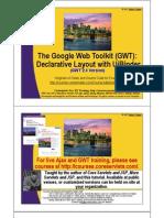 GWT UiBinder Intro123