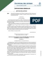 PROTOCOLO RATIFICACIÓN DERECHOS ECONÓMICOS SOCIALES Y CULTURALES