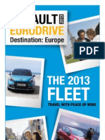 Car Lease in Europe BrochureGamme