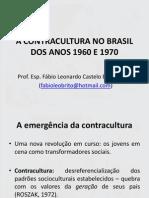 A Contracultura No Brasil Dos Anos 1960 e 1970