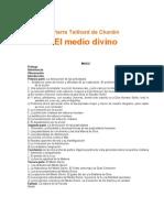 35149522 Teilhard de Chardin Pierre El Medio Divino