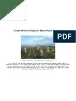 Adam's Calendar South Africa