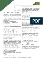 1995 Matematica Prova Colegio Naval