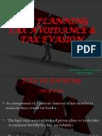 Tax Planning Tax Avoidance & Tax Evasion