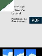 Motivacion Laboral Psicologia de Las Organizaciones