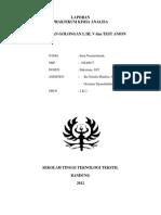 Laporan Kimia analisa Pemisahan Gol