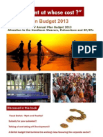 Union Budget 2013- Development at whose cost?