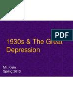 1930s / GreatDepression