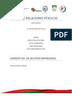 TALLER DE RELACIONES PÚBLICAS 2