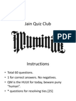 General Quiz (with answers)