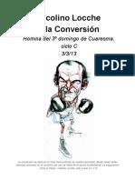 Nicolino Locche y la Conversión