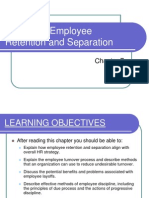 Employee Retention and Separation