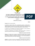 16 - LEY PARA LA PROTECCIÓN DE NIÑOS