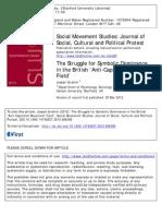 Social Movement Studies Volume  issue 0 2012 [doi 10.1080%2F14742837.2012.666396] Ibrahim, Joseph -- The Struggle for Symbolic Dominance in the British 'Anti-Capitalist Movement Field'