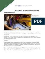 Se Pia Henry Ford Pt1