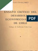 Ensayo Crítico del Desarrollo Económico-Social de Chile.
