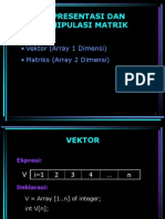 Vektor Dan Matrik